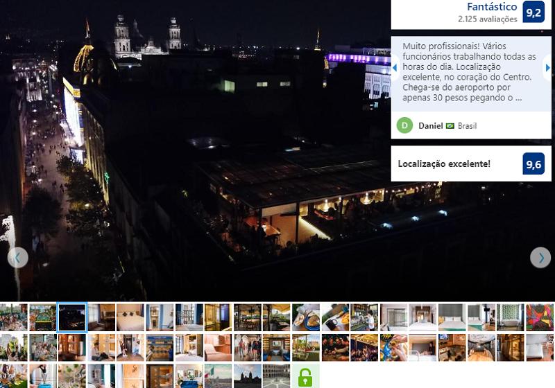 Fachada del Hostel Casa Pepe en Ciudad de México
