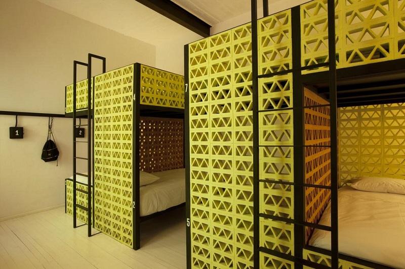 Habitación del Hostel Downtown Beds en la Ciudad de México
