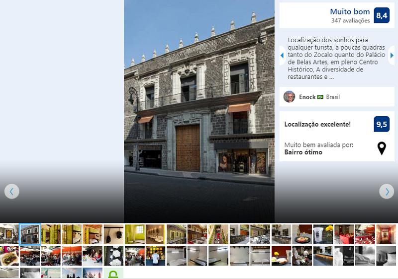 Fachada del Hostel Downtown Beds en Ciudad de México