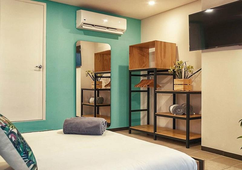 Habitación del Hostel Mayan Monkey Hostel Cancún