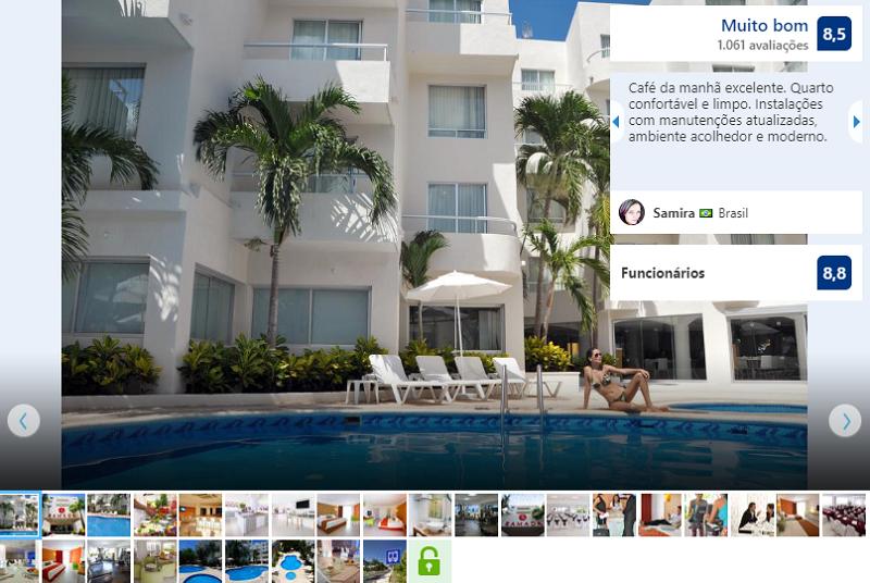 Fachada del Hostel Ramada by Wyndham Cancun City
