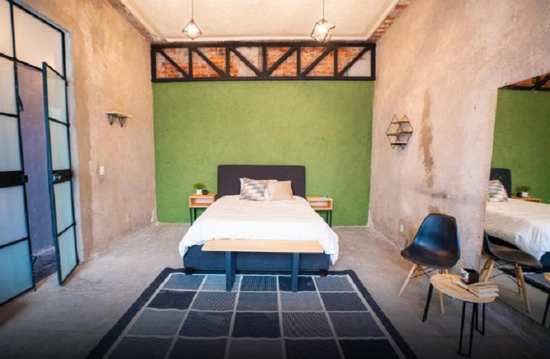 Habitación en el Hostel U-Co Roma en la Ciudad de México