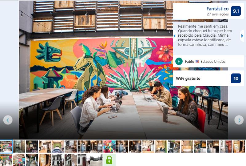 Fachada del hostel U-Co Roma en Ciudad de México