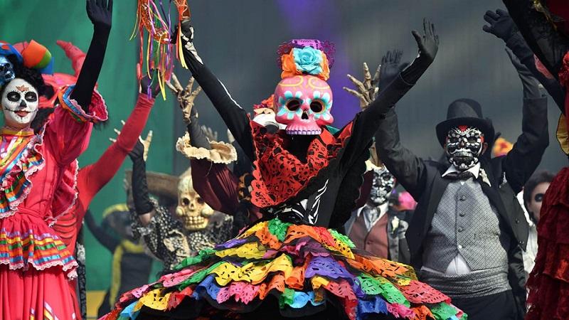 Día de Los Muertos en Cancún - México