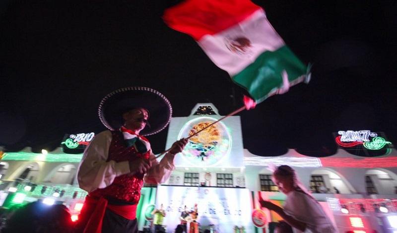 Grito de la Independencia en Cancún